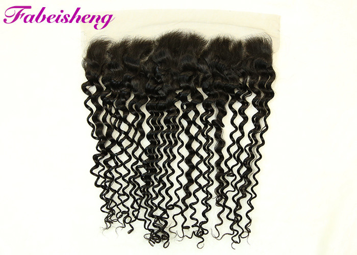 Clear Natural Raw Hair Ear To Ear Lace Frontal & Closure With Soft Hand Feeling